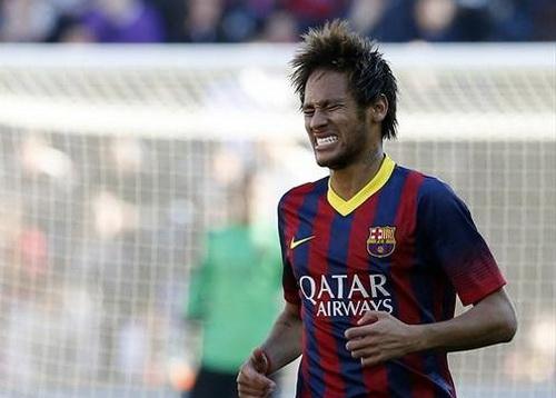 Neymar sau pha hỏng ăn phút 58