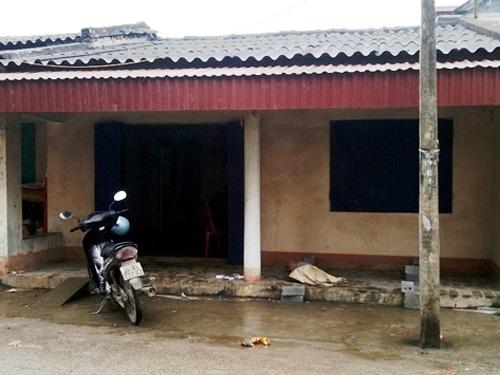 Ngôi nhà nơi xảy ra vụ án mạng chồng giết vợ rồi tự sát - Ảnh: VNE