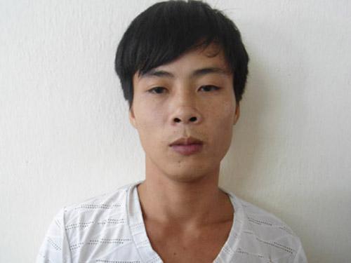 Nguyễn Khắc Long sau khi bị lực lượng công an bắt giữ - Ảnh: Đài PT-TT Quảng Ninh