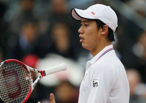 Nishikori thất bại ngay từ trận ra quân Thượng Hải Masters
