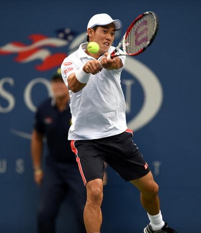 Kei Nishikori thi đấu như một chiến binh tại giải Mỹ mở rộng 2014