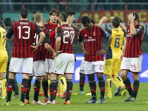 Nỗi buồn Milan