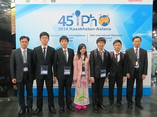 Đoàn Việt Nam giành 3 huy chương vàng, 2 huy chương bạc tại Olympic vật lý quốc tế 2014