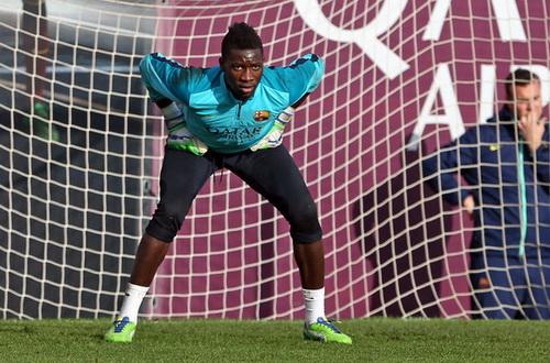 Onana, một thủ môn 18 tuổi trưởng thành từ lò đào tạo La Masia của Barca