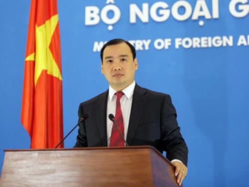 Ông Lê Hải Bình là Người phát ngôn mới của Bộ Ngoại giao từ ngày 8-2
