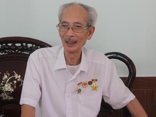Ông Nguyễn Xuân Tính, người trực tiếp tham gia hỏi cung tướng De Castries chiều ngày 7-5-1954