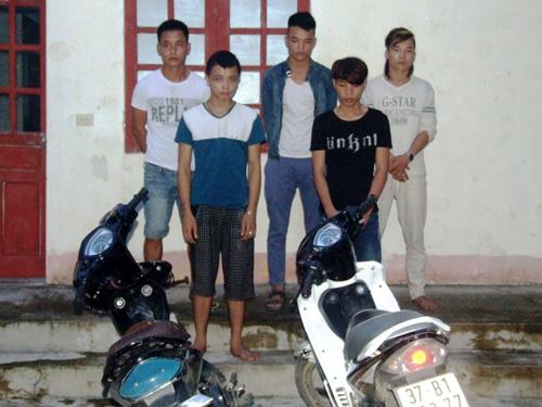 Nhóm đạo chích 9X chuyên đục tường để trộm cắp bị bắt giữ
