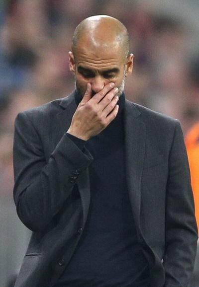 Nỗi buồn Bayern, nỗi buồn Pep Guardiola