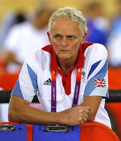 Chuyên gia tâm lý Steve Peters tại Thế vận hội London 2012