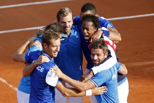 Niềm vui vào chung kết của tuyển Pháp