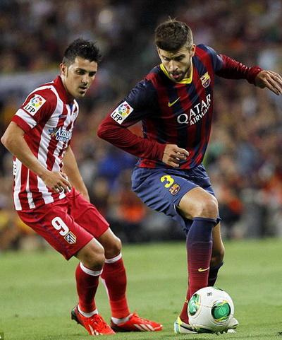 Gerard Pique trong màu áo Barcelona