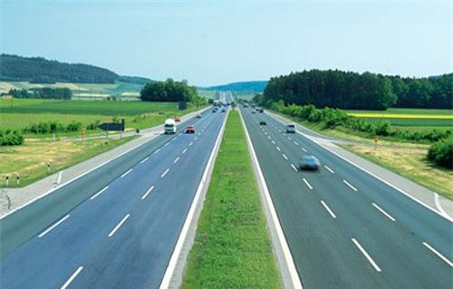 Quốc lộ 1 đoạn Hà Nội - Bắc Giang được thiết kế theo tiêu chuẩn cao tốc. Ảnh: Bộ Giao thông vận tải