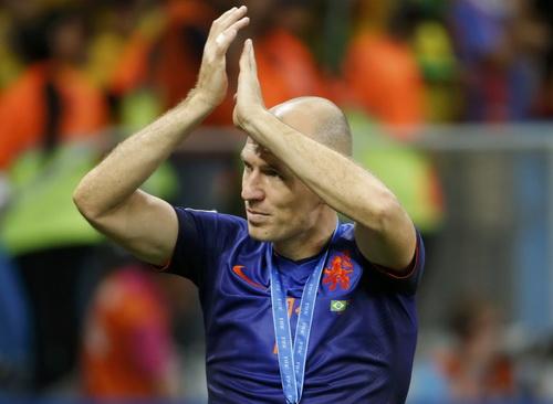 Robben trải qua một kỳ World Cup xuất sắc với Hà Lan