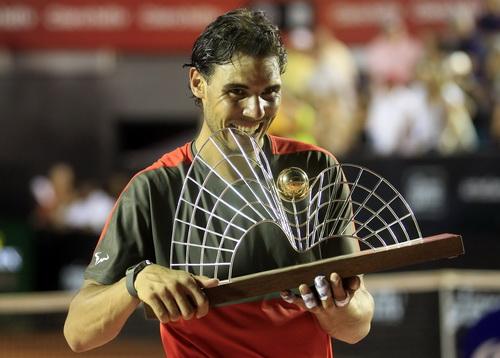 Nadal và chiếc cúp thứ 62 trong sự nghiệp