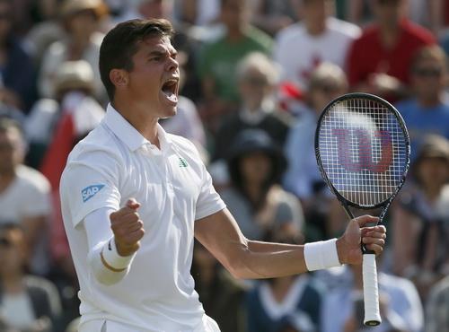 Milos Raonic sẽ tái hiện niềm vui chiến thắng này ở bán kết, trước Federer?