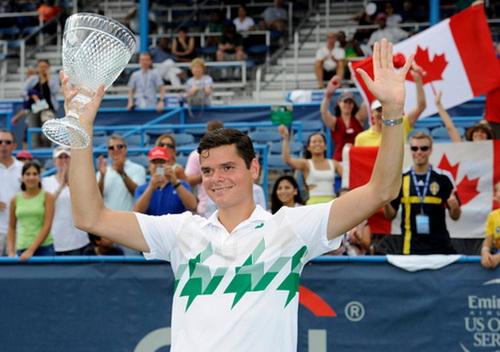 Raonic quá mạnh, giành ngôi vô địch và vị trí thứ 6 ATP