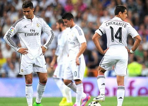 Thất vọng Real Madrid