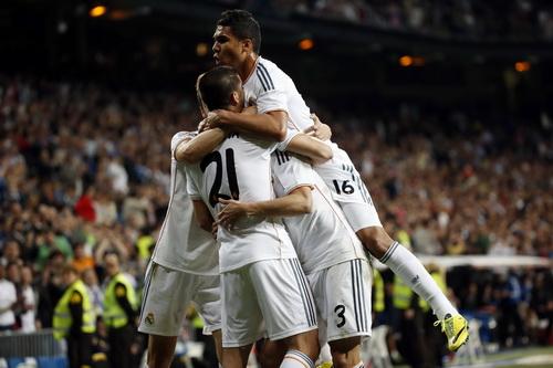 Niềm vui chiến thắng của Real Madrid - hình ảnh quen thuộc thời gian gần đây