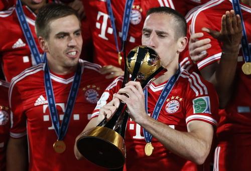 Ribery - Cầu thủ xuất sắc nhất World Cup các CLB