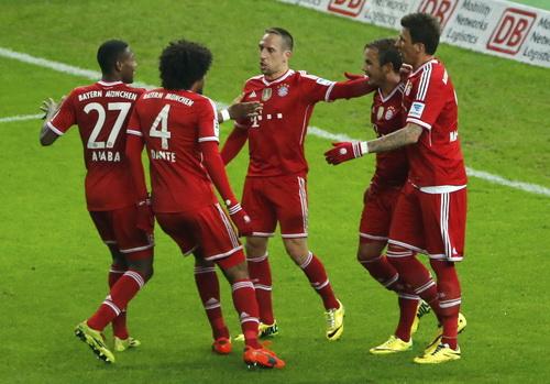 Mức chi trả lương ở Bayern Munich chỉ ở mức trung bình khá