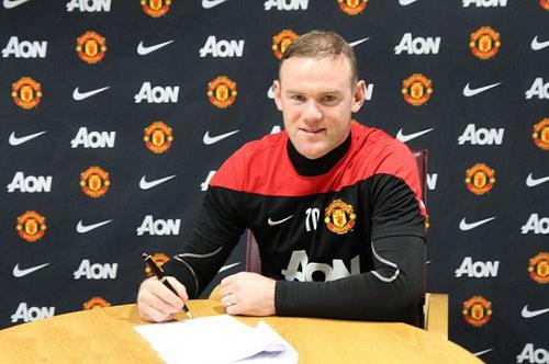 Rooney sẽ có khoản thu nhập 43.000 bảng/ngày, tức 30 bảng mỗi phút