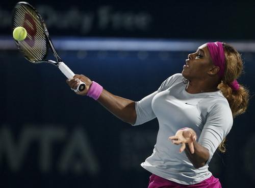 Serena trở lại sân đấu sau khi vắng mặt ở Indian Wells