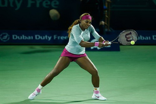 Serena vượt mặt mọi đối thủ tại Doha