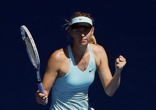 Maria Sharapova chật vật vào vòng trong