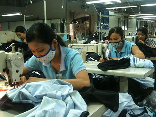 Thu nhập và phúc lợi của công nhân Công ty Shing Việt (quận Thủ Đức, TP HCM) luôn được quan tâm cải thiện