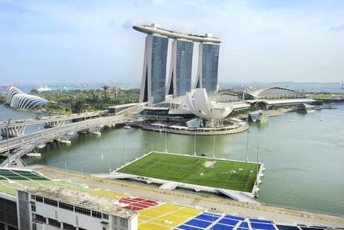 Sân vận động nổi vịnh Marina