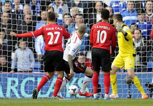 Trung vệ Skrtel lập cú đúp cho Liverpool