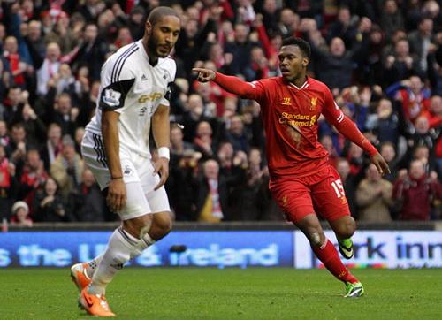 Daniel Sturridge ghi bàn 8 trận liên tiếp