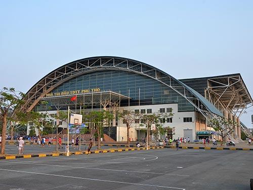 Nhà Thi đấu Phú Thọ, TP HCM - công trình phục vụ SEA Games 22 hiện nay rất ít được sử dụng Ảnh: TẤN THẠNH