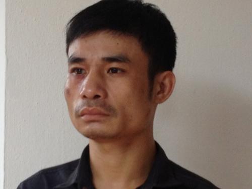 Phạm Xuân Thanh tại cơ quan công an - Ảnh do cơ quan công an cung cấp