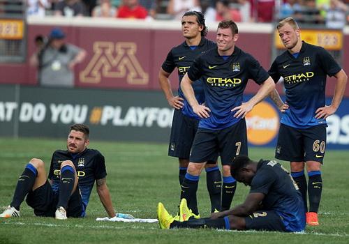 Nỗi thất vọng Man City