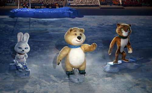 Ba mascot của Sochi 2014
