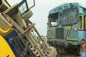 Tai nạn đường sắt diễn ra khá phổ biến tại Ấn Độ. Ảnh: The Sunday Indian