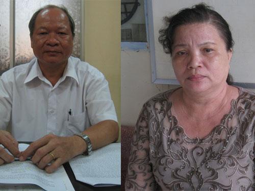 Ông Trương Văn Bình (trái) và bà Nguyễn Ánh Minh. Ảnh: DUY NHÂN
