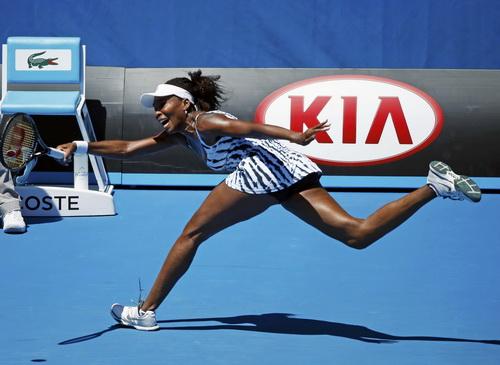 Venus Williams sớm chia tay giải