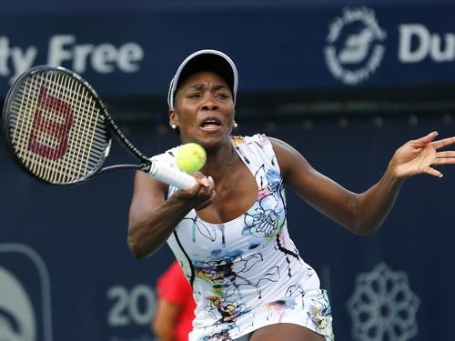 Venus Williams trở lại mạnh mẽ ở Dubai Championships