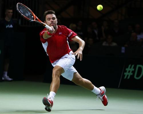 Wawrinka khởi đầu không thành công ở tứ kết Davis Cup