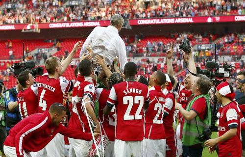 Vinh quang đã ngoảnh mặt với Arsenal quá lâu