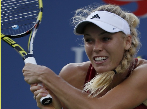 Wozniacki nỗ lực cho một danh hiệu lớn