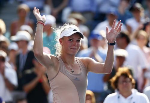 Wozniacki không quá vui mừng với việc vào chung kết