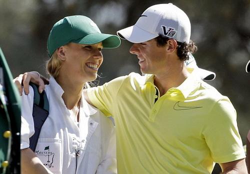 Wozniacki và McIlroy từng được xem là đôi tiên đồng ngọc nữ của làng thể thao