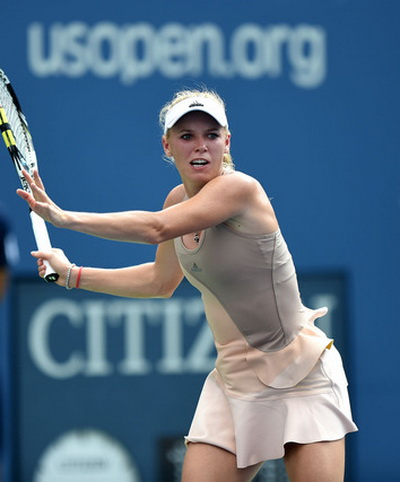 Wozniacki đưa trận đấu vào thế tranh chấp sòng phẳng
