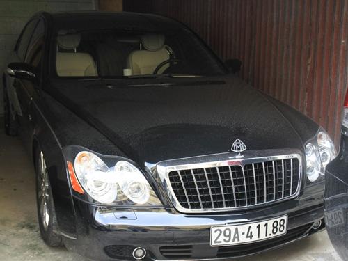 Siêu xe Mayback 57S của Minh Sâm