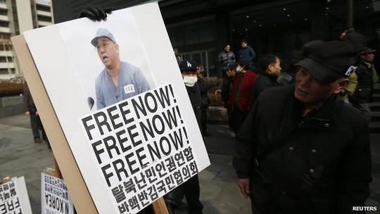 Đến nay Mỹ vẫn chưa thể giải cứu cho công dân gốc Hàn Kenneth Bae