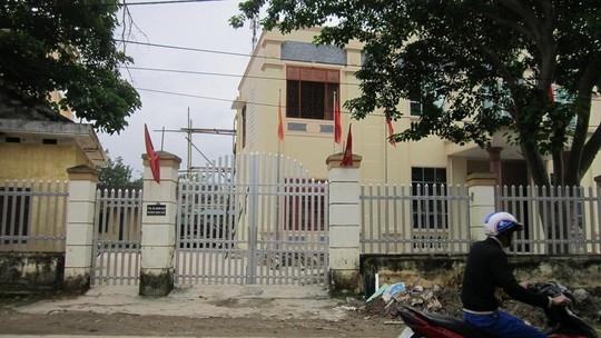 TAND huyện Nam Đàn, nơi ông Quang và ông Trường công tác.