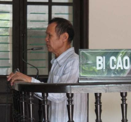Bị cáo Cùng tại phiên tòa.